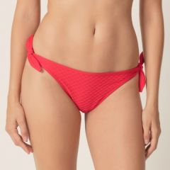 MJ-Swim Brigitte-bikini briefs waist ropes-true red